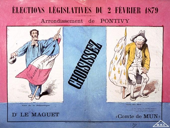 La conquête du suffrage universel
