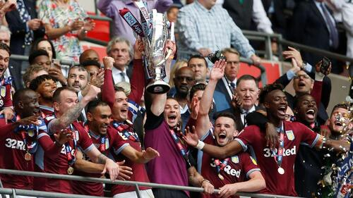 Kalahkan Derby County, Aston Villa Kembali ke Premier League