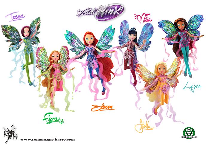 World of Winx : les nouvelles poupées à venir cette année !