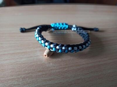Bracelet Square Knot & 3 Bands (2)