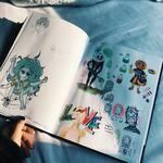 sketchbook d'octobre