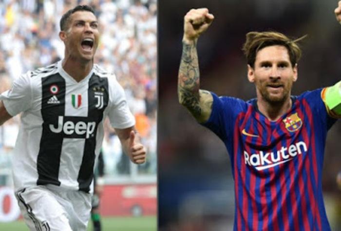 Sepatu Emas Eropa 2018/19: Lionel Messi Nomor 1, Ronaldo Nomor 14