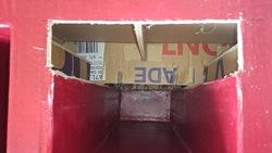Retaper un ancien meuble en carton