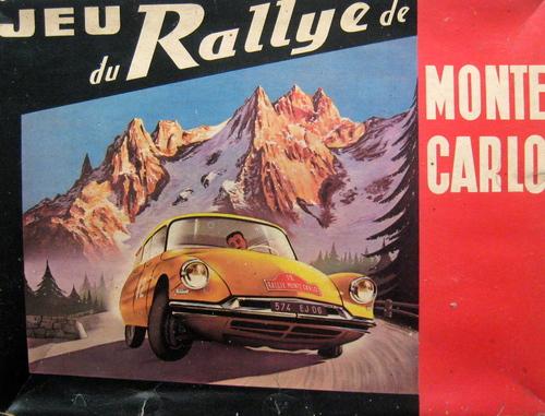 Jeu du rallye de Monte carlo