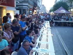 92 eme Championnat de France à Agen Cinq chatenoyens Marie-Céline, Bernard, Jean-Marc, Norbert et William