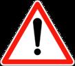 Panneau de signalisation de danger en France — Wikipédia