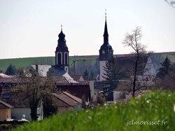 les deux églises de Soultz sous forêts
