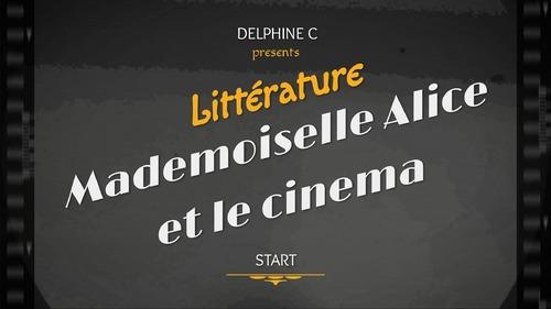 Mademoiselle Alice et le cinéma - cm1 cm2- l'invention du cinéma