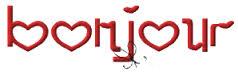 SAL St Valentin ! vos broderies de l'étape 1 .....