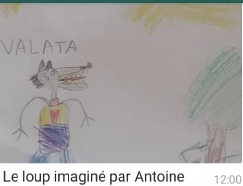 Vos magnifiques dessins de loup
