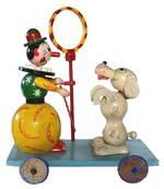PONCHON de St ANDRE - clown dresseur de chien