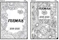 Pages de garde cm1 cm2 - 2019-2020