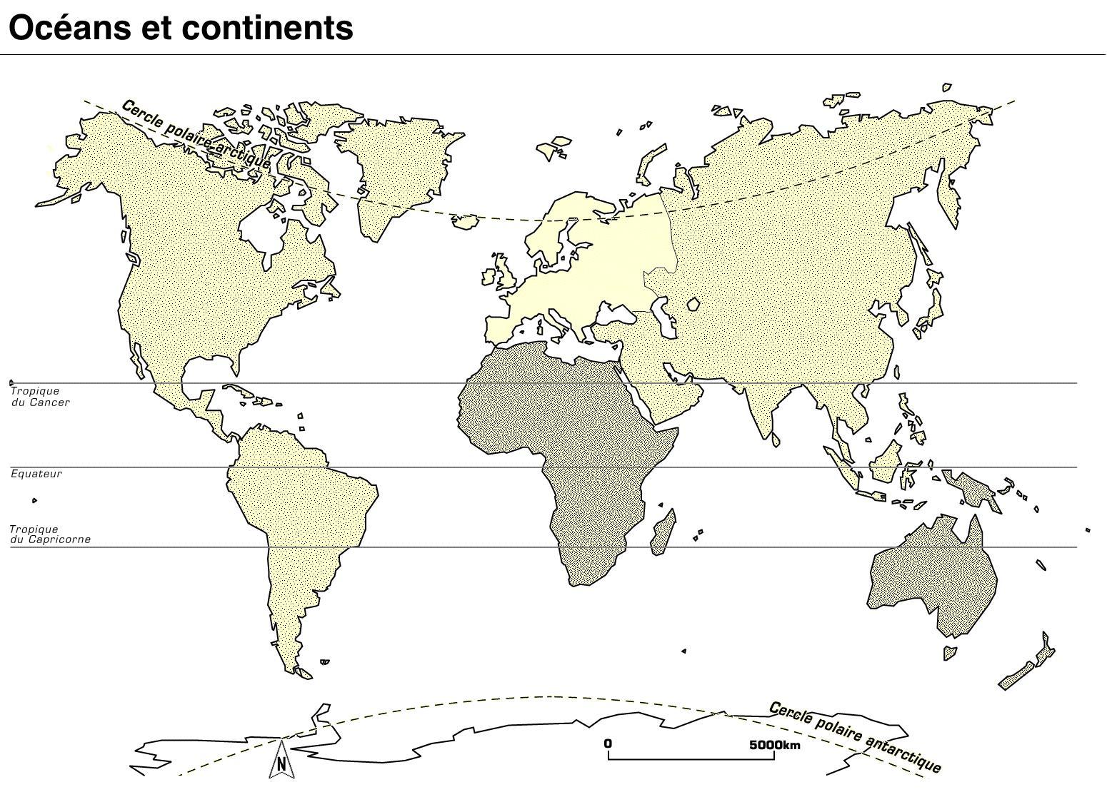 Fabuleux Océans et continents - Les trouvailles de Karinette IB77