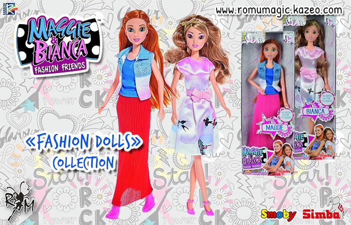 Maggie & Bianca : Les poupées de la série TV arrivent !