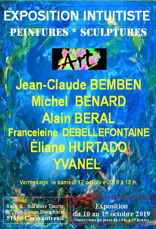 Expo intuitiste à Cormontreuil 51350