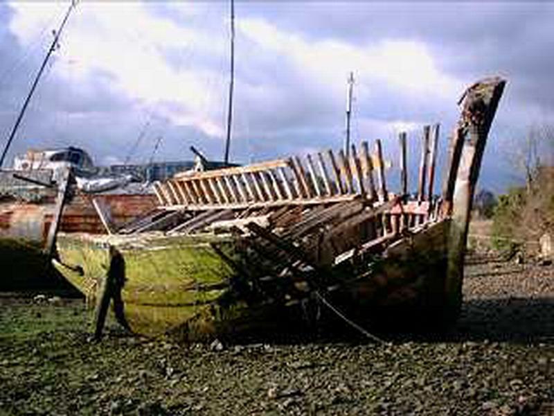 cimetière de bateaux - Quelmer