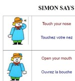 JEU Simon says