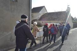 La balade du 4 février à Bénouville