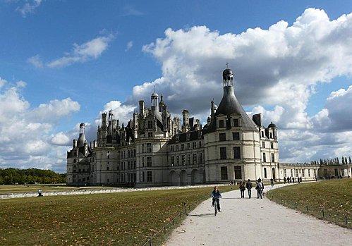Vers le château chambord - 4-10-08