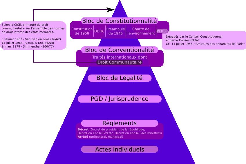 La hiérarchie des normes et la pyramide de Kelsen - Cours