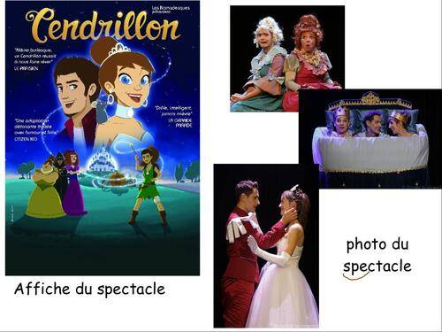 SPECTACLE CENDRILLON
