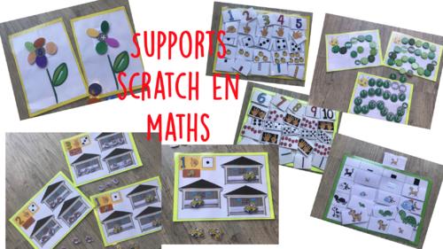 Supports activités scratch maths
