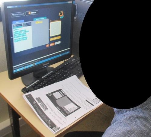 GleamCode: les documents de travail de mes élèves