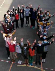 Fête du 100è jour d'école