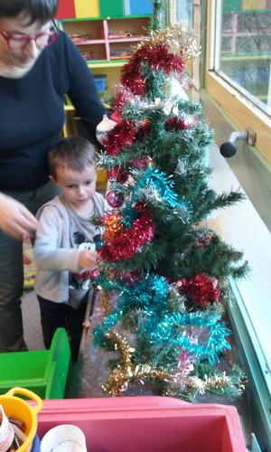 Décoration d sapin de Noël (MS)