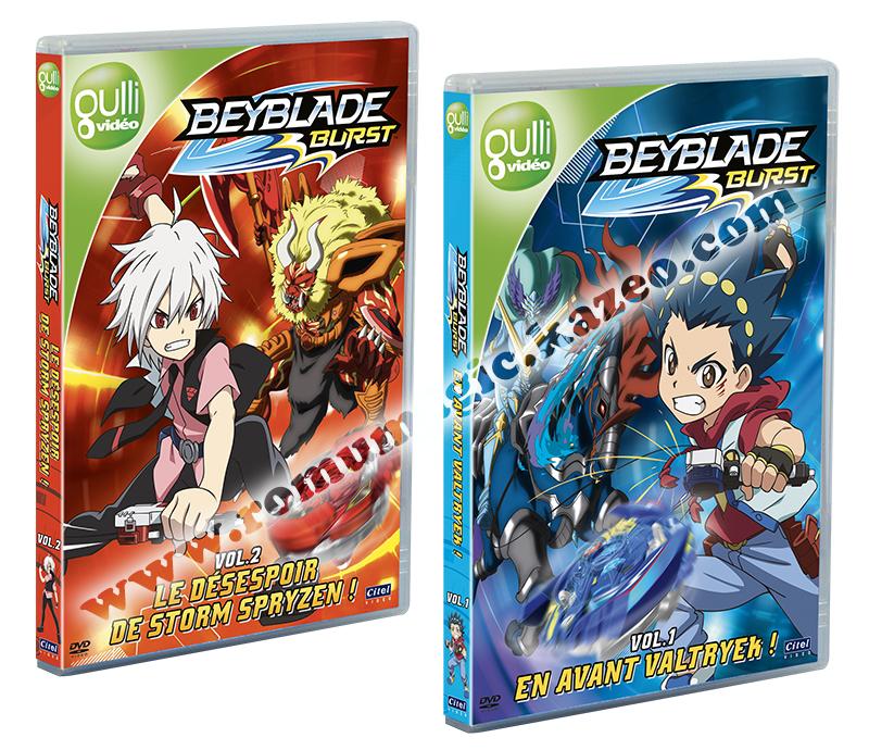 Beyblade Burst bientôt en DVD !