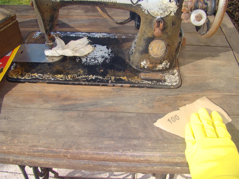 Retaper Une Vieille Caisse En Bois je rénove une vieille machine à coudre. - lavéro