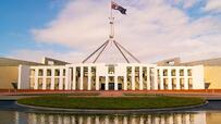 Growing grass cost at Parliament House in Canberra