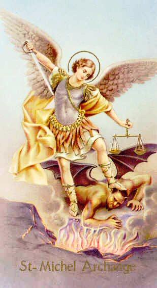 Prière à Saint Michel - Prions le Seigneur