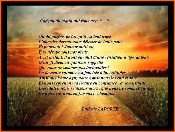 Auteur : Ludovic LAPORTE