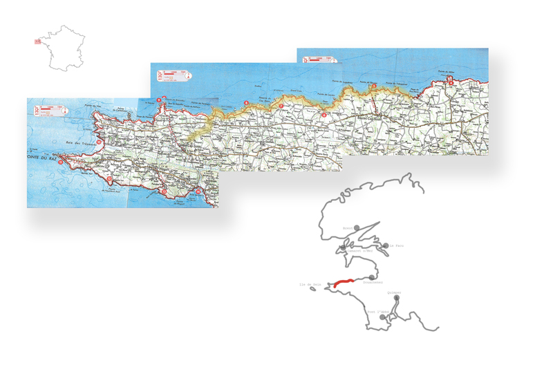 Jour 9 : Pors-Peron - Kerlaouen - 22 kms