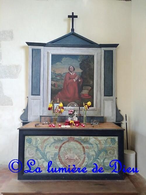 Saint Céneri le Gérei, la chapelle