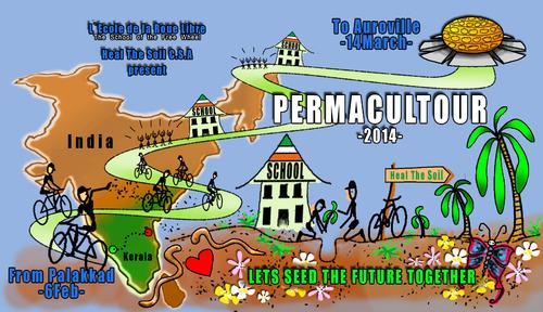 Permacultour India (Vision de l'Artiste :)
