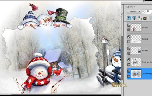 Die Liebe eines Schneemannes