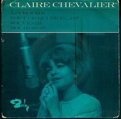 """Claire Chevalier """" 1965 chez Barclay (70 792) """""""