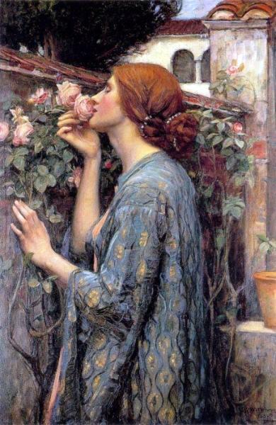 File:John William Waterhouse - The Soul of the Rose, aka My Sweet Rose@250x140.JPG