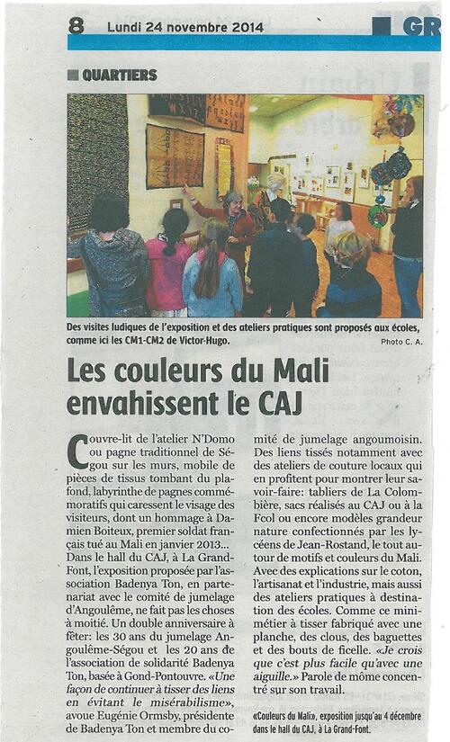 EXPOSITION  A ANGOULEME