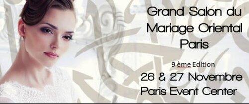 Le Grand Salon du Mariage Oriental Paris 2016 à Paris