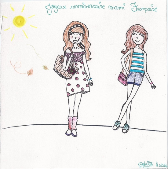 Dessin Pour Ma Grand Mere Ophelie S World