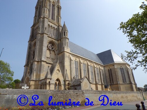 Saint Aubin sur mer, l'église