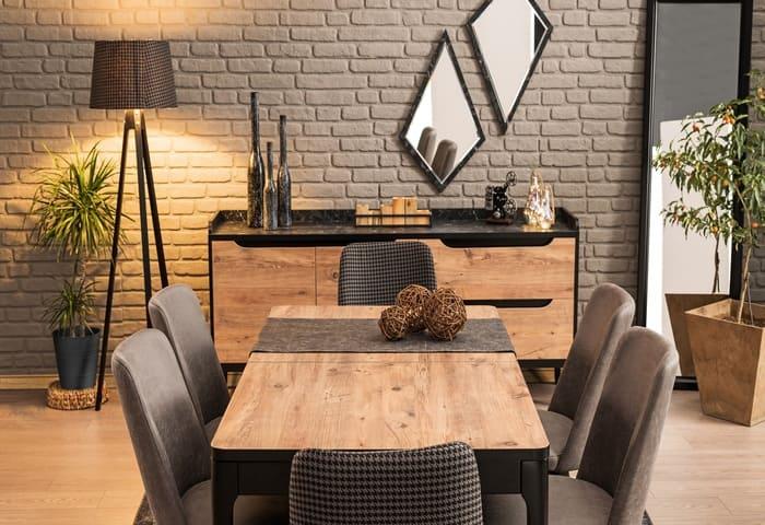 6 Lampu Ruang Makan Sebagai Hiasan Meja Tempat
