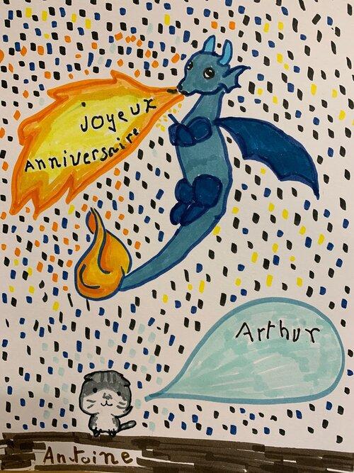 Joyeux anniversaire Arthur !!!!!