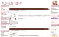 La classe de Mathalie