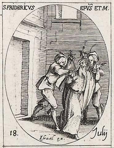 Saint Frédéric. Evêque et martyr à Utrecht († 838)