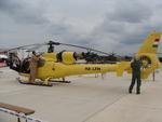 SA 342J Gazelle HA-LFH basée en Grande-Bretagne et immatriculée en Hongrie