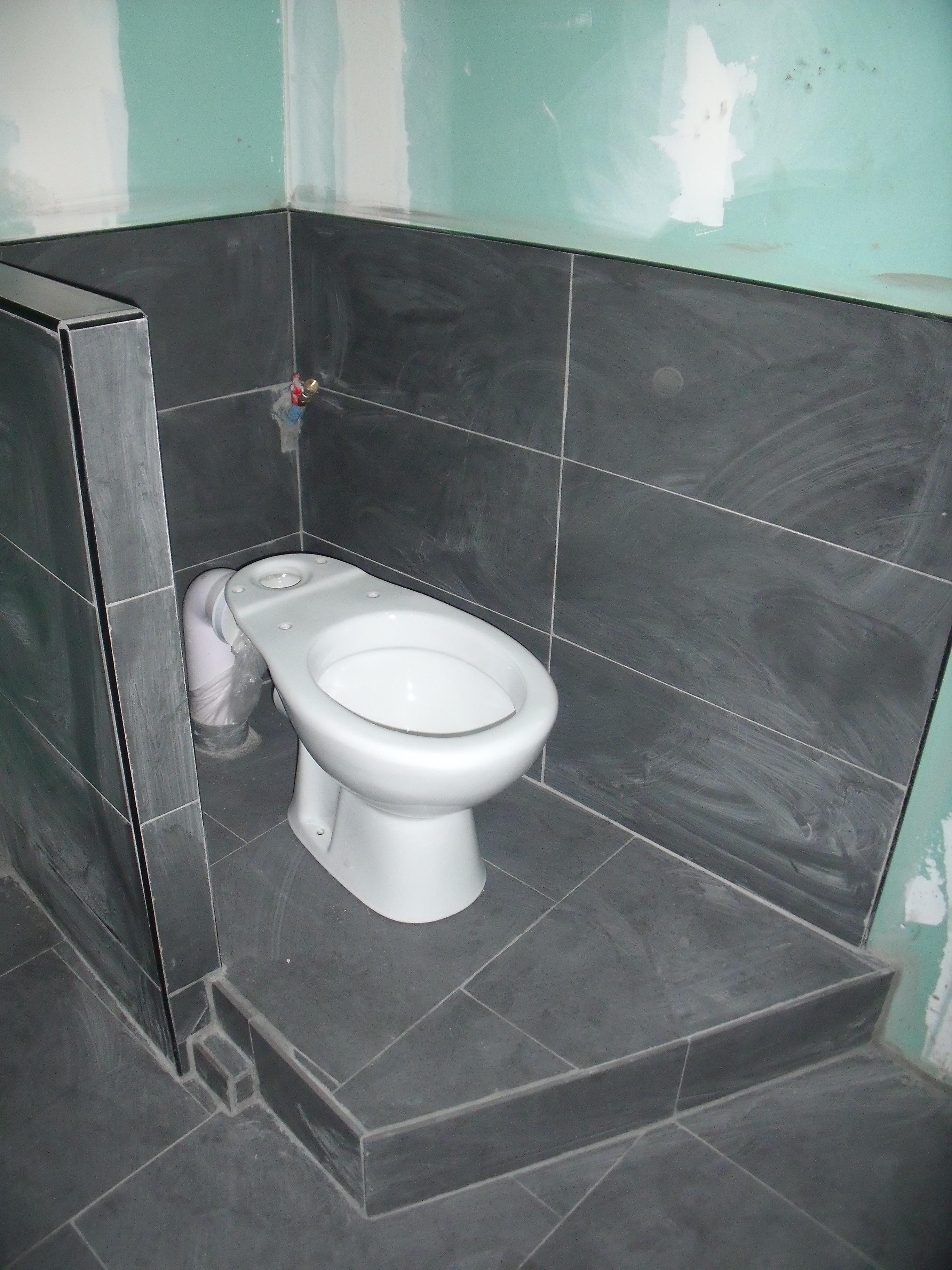 Salle De Bain Faience Grise carrelage et faïence gris finis et joints faits salle de bains